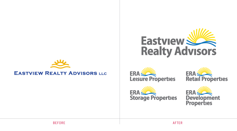 Eastview Realty Advisors Brand Identity